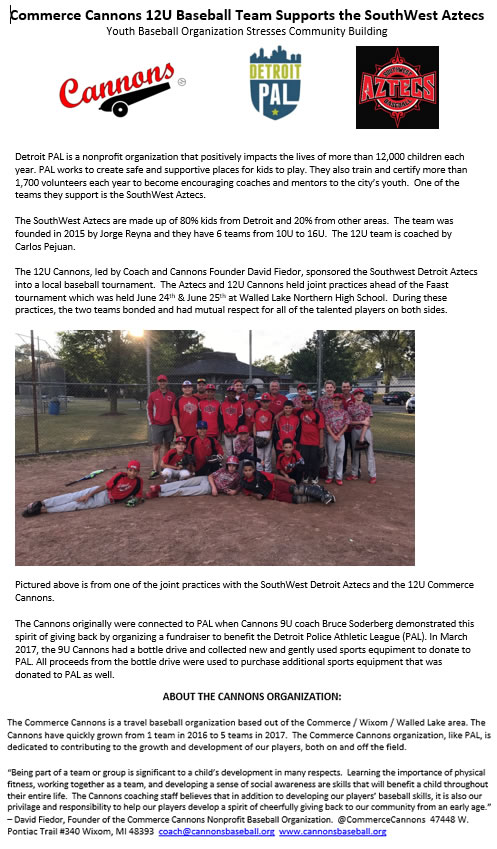 2017 cannons 12u southwest aztecs
